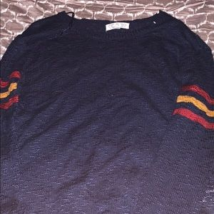 navy blue super light weight sweater